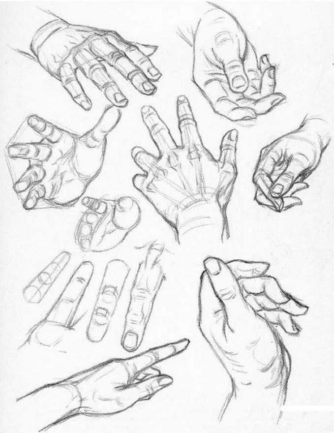 Как рисовать человека своими руками
